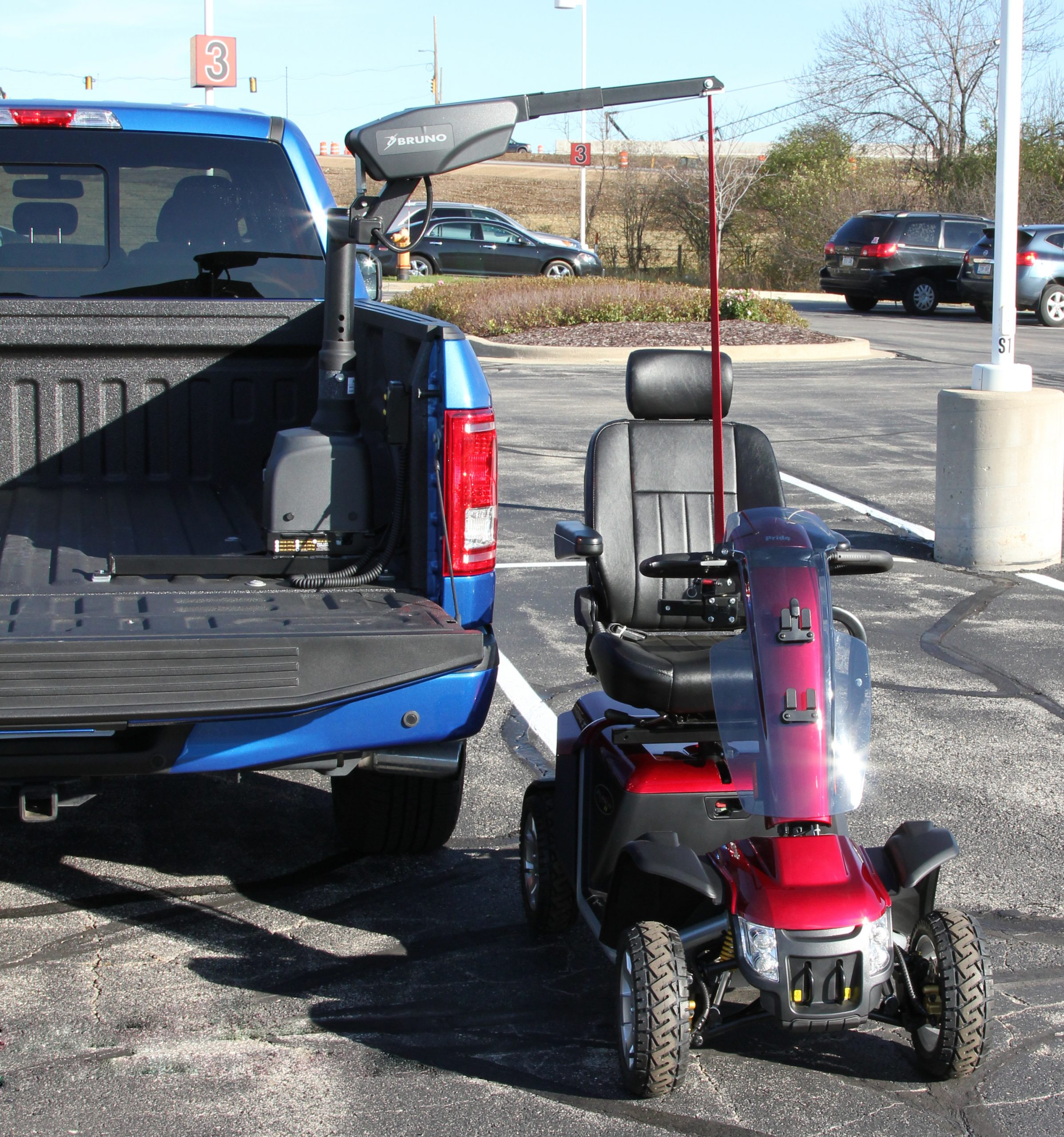 Courtland Mobility Curb-Sider-Pickup